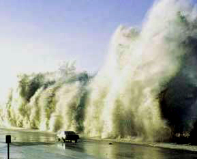 Fake Tsunami Pictures: #7 - FAKE tsunami picture